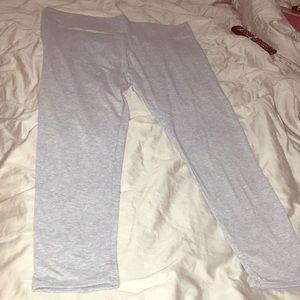 Victoria's Secret heather grey leggings